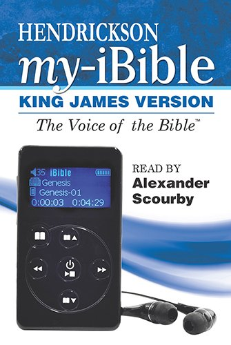 9781619706699: Holy Bible - Hendrickson My Ibible: King James Version, Voice Only