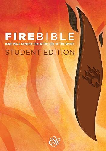 9781619706903: Fire Bible: English Standard Version, Brass Brown / Chestnut: Igniting a Generation in the Life of the Spirit