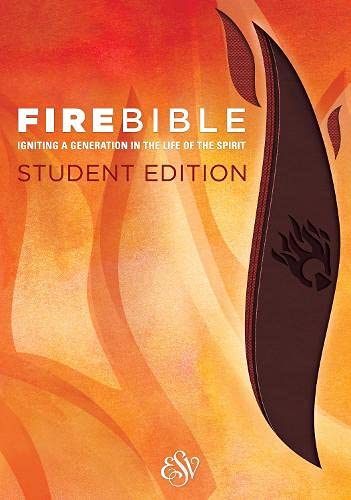 9781619706910: Fire Bible: English Standard Version, Brick Red / Plum: Igniting a Generation in the Life of the Spirit