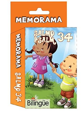 Salmo 34- Memorama (Bilingüe) Psalm 34 memory
