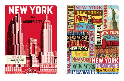 9781619920064: Notebook Set of 2 NYC: Nbset/NYC