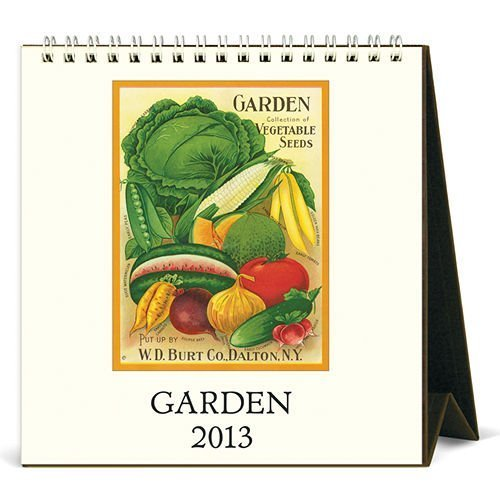 2013 Garden Desk Calendar