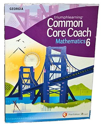 9781619971059: Triumphlearning Common Core Coach Mathematics 6