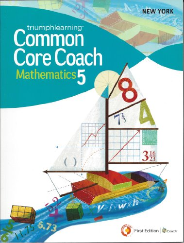 9781619971165: New York Common core Coach Grade 5 Math (Coach)