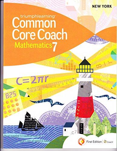 9781619971189: Common Core Coach Mathematics 7 (New York Version)