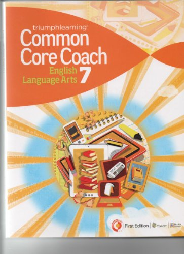 9781619974340: Common Core Coach English Language Arts 7 First Ed.