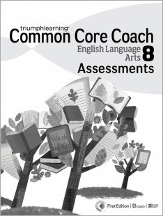 9781619974593: Common Core Coach English Language Arts 8 Assessments (Grade 8)