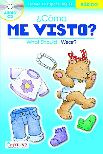 9781620022887: What Should I Wear? / ¿Cómo Me Visto? with CD (English and Spanish Edition)