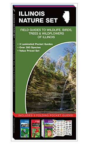 9781620051382: Illinois Nature Set: Field Guides to Wildlife, Birds, Trees & Wildflowers of Illinois