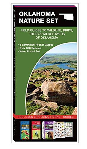 Oklahoma Nature Set: Field Guides to Wildlife, Birds, Trees & Wildflowers of Oklahoma: James ...