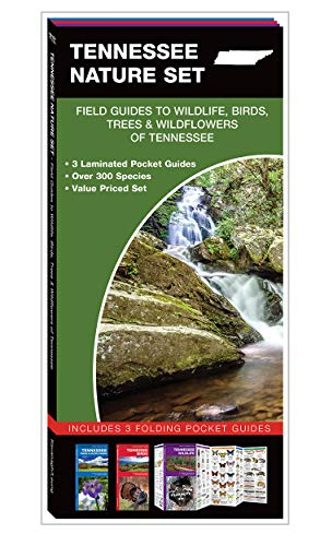 9781620051672: Tennessee Nature Set: Field Guides to Wildlife, Birds, Trees & Wildflowers of Tennessee