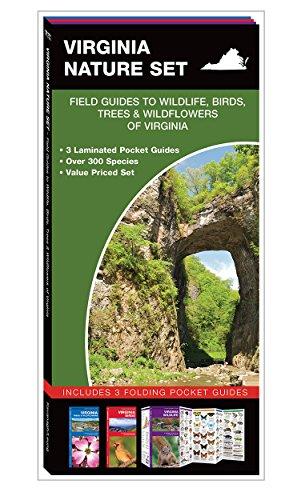 9781620051719: Virginia Nature Set: Field Guides to Wildlife, Birds, Trees & Wildflowers of Virginia