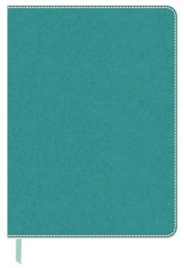 Teal Leather Look Journal