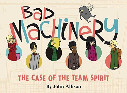 Bad Machinery Volume 1: The Case of: John Allison, James