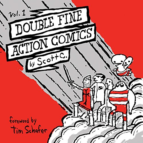 Double Fine Action Comics Volume 1 (Paperback): Scott Campbell