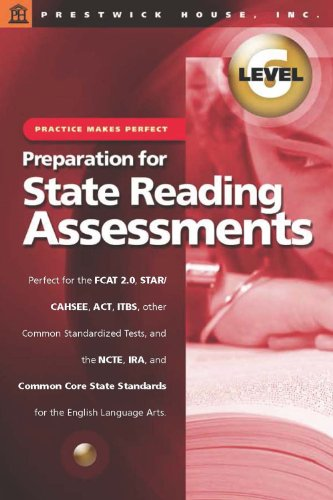 9781620190081: Practice Makes Perfect (Level 6): Preparation for State Reading Assessments