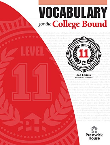 9781620191132: Vocabulary for the College Bound - Level 11 2nd Edition