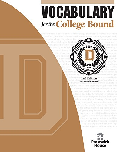 9781620191149: Vocabulary for the College Bound - Level 12