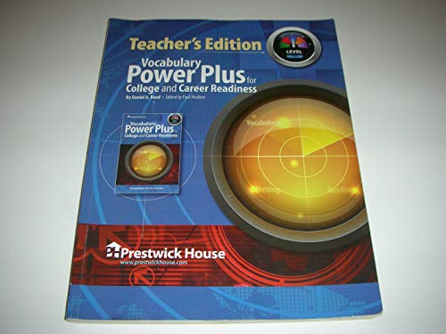 9781620191446: Vocabulary Power Plus for College and Career Readiness