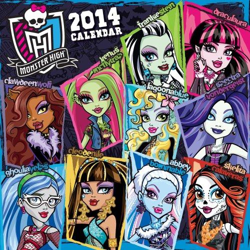 9781620211427: Monster High 2014 Wall Calendar