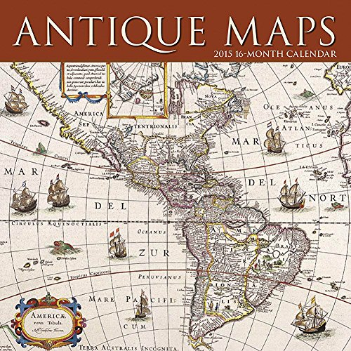 9781620212332: 2015 Antique Maps Wall Calendar Calendar Ink