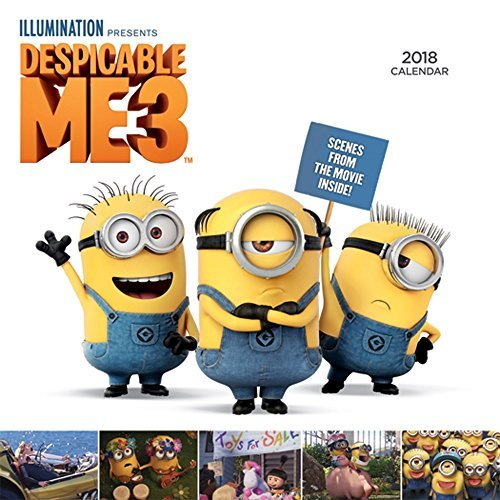 Despicable Me 3 2018 Mini Wall Calendar: BrownTrout Publishers