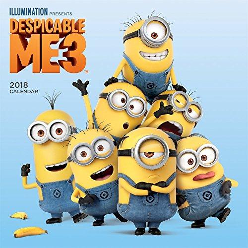 Despicable Me 3 2018 Calendar