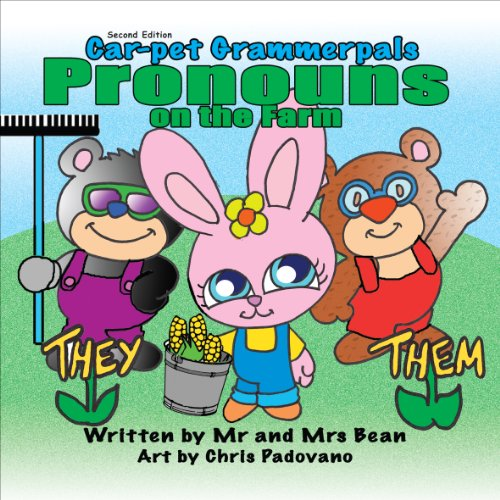 9781620248799: Pronouns on the Farm, Second Edition (Car-pet Grammerpals Books)