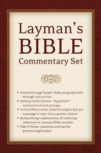Layman's Bible Commentary Set: Dr. Tremper Longman