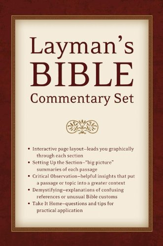 9781620297735: Layman's Bible Commentary Set