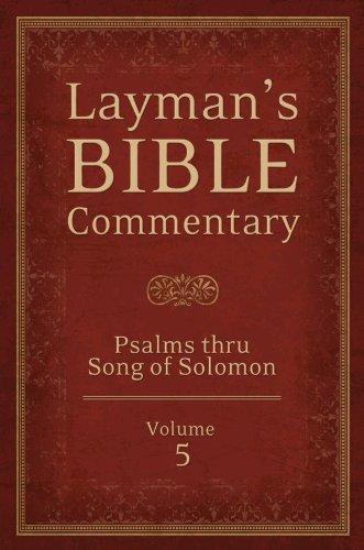 Psalms Thru Song of Songs: Dr Tremper Longman