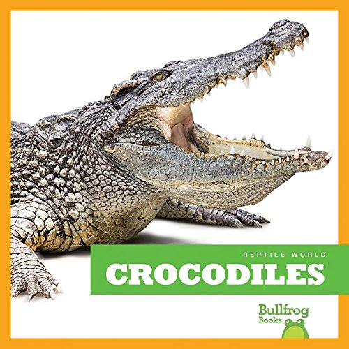 9781620311950: Crocodiles (Bullfrog Books: Reptile World)