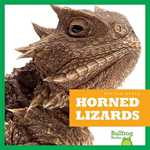 9781620311967: Horned Lizards (Bullfrog Books: Reptile World)