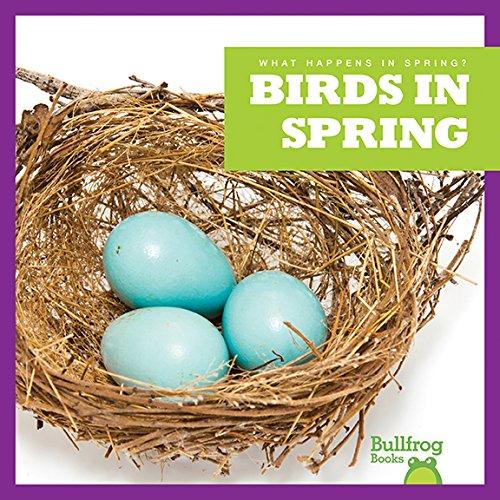 9781620314791: Birds in Spring (Bullfrog Books: What Happens in Spring?)