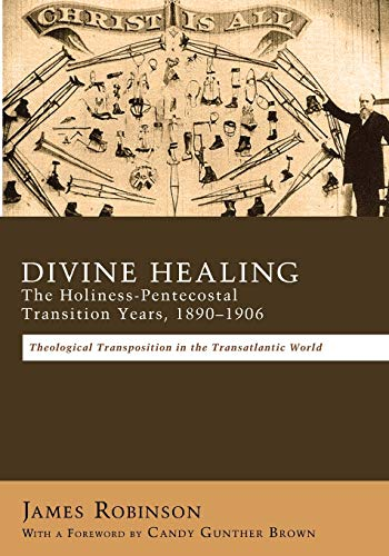 9781620324080: Divine Healing: The Holiness-Pentecostal Transition Years, 18901906: Theological Transpositions in the Transatlantic World