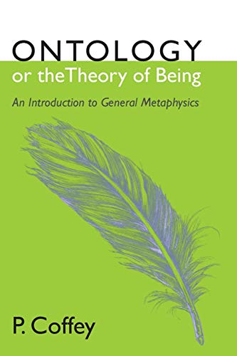 9781620329788: Ontology or the Theory of Being: An Introduction to General Metaphysics