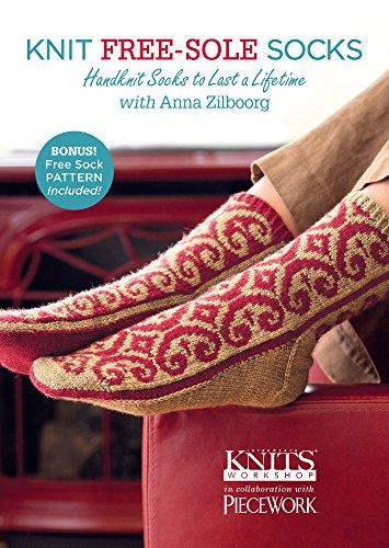 9781620335024: Knit Free-Sole Socks: Handknit Socks to Last a Lifetime