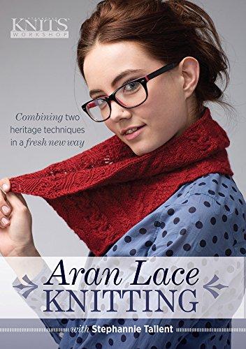 Aran Lace Knitting: Tallent, Stephannie
