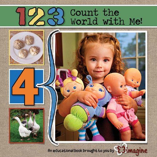9781620340028: 123 Count the World with Me! (Early Education)