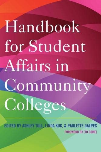9781620362044: Handbook for Student Affairs in Community Colleges