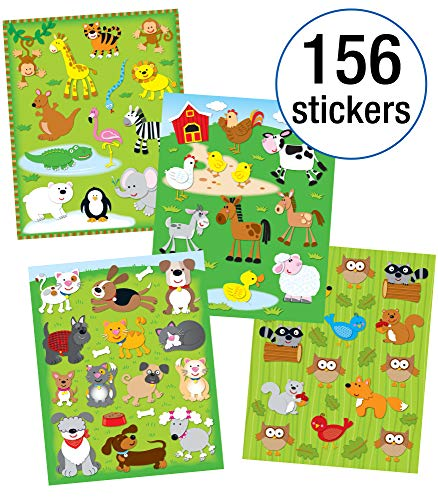 9781620570722: Animals Sticker Collection