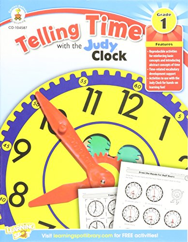 9781620573457: Telling Time with the Judy® Clock, Grade 1