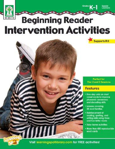 9781620573679: Beginning Reader Intervention Activities