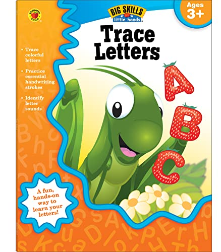 9781620574447: Trace Letters, Ages 3 - 5 (Big Skills for Little Hands®)