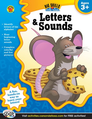 9781620574478: Letters & Sounds, Ages 3 - 5 (Big Skills for Little Hands®)