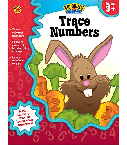9781620574485: Trace Numbers, Ages 3 - 5 (Big Skills for Little Hands)