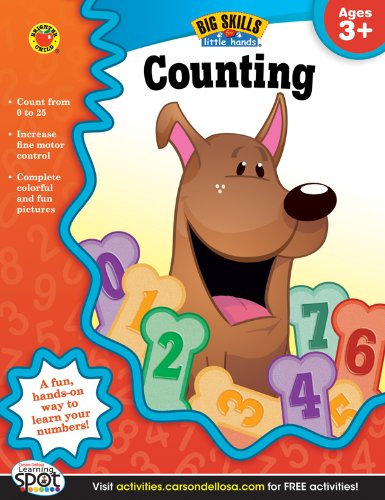 9781620574515: Counting, Ages 3 - 5 (Big Skills for Little Hands®)