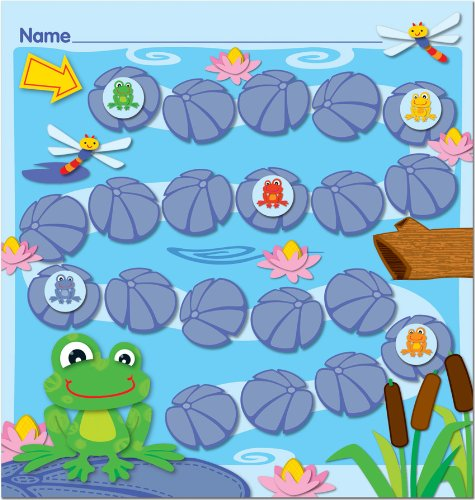 9781620575222: Funky Frogs Mini Incentive Charts