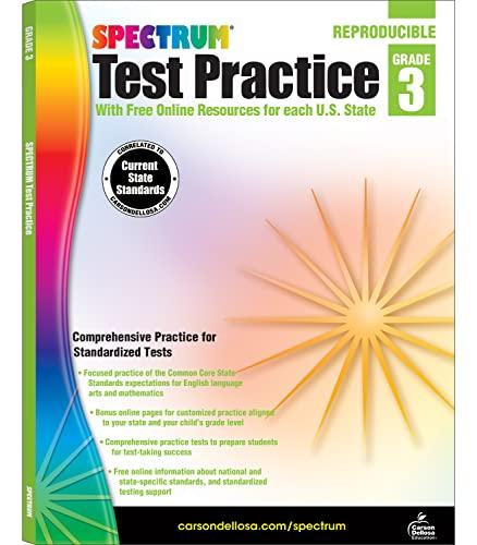 9781620575956: Spectrum Test Practice, Grade 3