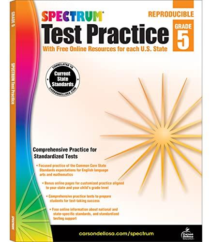Spectrum Test Practice, Grade 5 (Paperback)